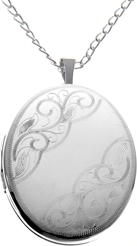 """Sterling Silver Arbre Et Fleur De Vie Pendentif comprend 20/"""" Italian Chaîne Serpent"""