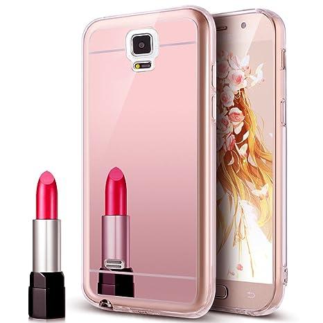 Galaxy Note 4 caso, Note 4 caso, ikasus Plating Tpu espalda ...