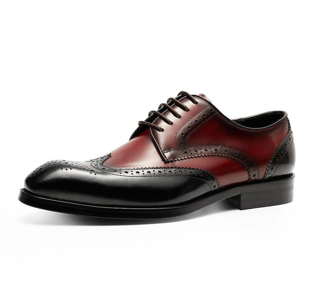GDXH Herren Lederschuhe Geschäft Kleid Mode Schuhe Hochzeitsschuhe Formale Schuhe