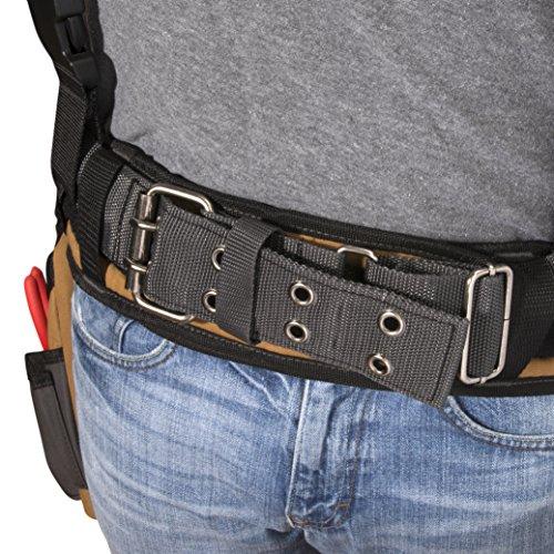 Dickies Gear 57023 – Suspenders Cooling – Steel – Leather Tool Belt – lb.
