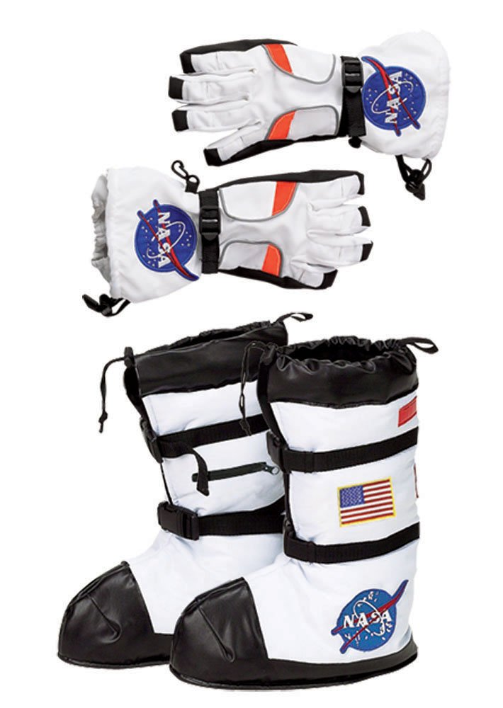 Aeromax Astronaut Boot and Glove Combo (2 Piece Bundle), Small