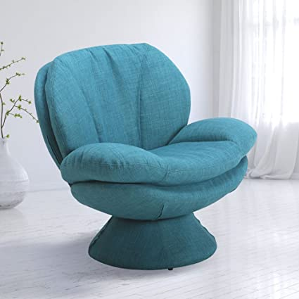 Amazing Mac Motion Comfort Chair Pub Leisure Accent Chair In Turquoise Fabric Lamtechconsult Wood Chair Design Ideas Lamtechconsultcom