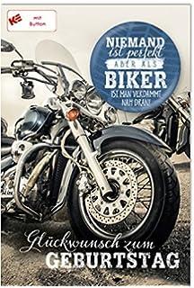 Witzige Geburtstagskarte Alter Ist Nichts Fur Feiglinge Motorrad