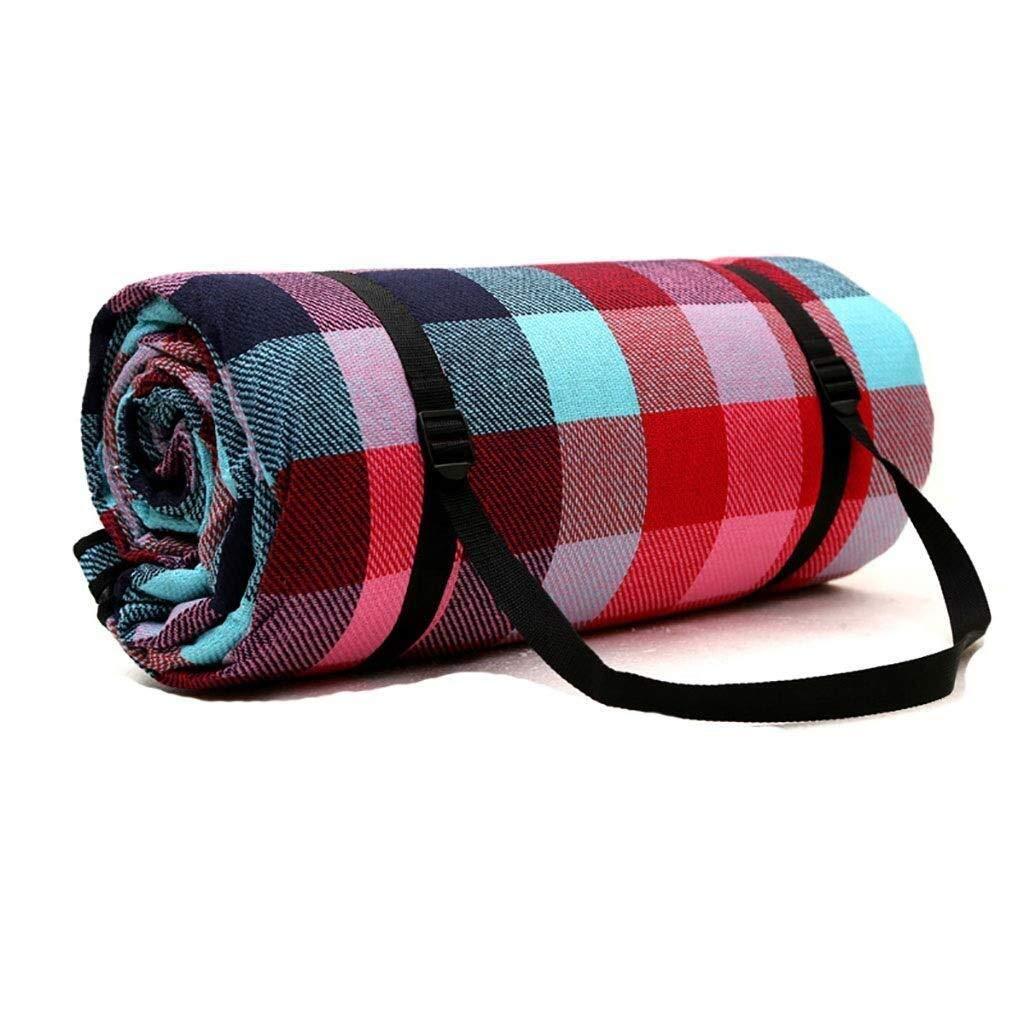 ZKKWLL Picnic Blanket Moistureproof Picnic Blanket Portable Lightweight Waterproof Beach Picnic Blanket Washable Folding Camping Hiking Picnic mat (Color : B) by ZKKWLL
