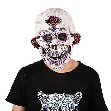 Terror Máscara de Halloween, Morbuy Adulto Látex Novedad Horror ...