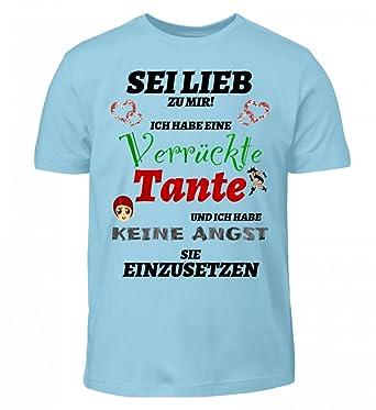 Generic Verrückte Tante Nichte Neffe Spruch Kinder T Shirt T