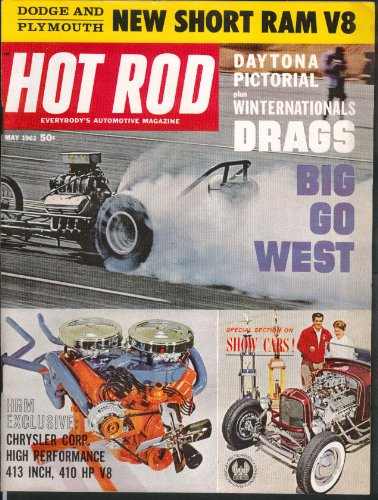 (HOT ROD Dodge Plymouth Short Ram V8 Daytona Winternationals Chrysler 413 5 1962)