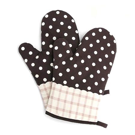 alisky horno guantes de horno guantes de juego de 2 Algodón para ...