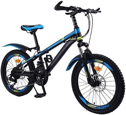 Paseo Bicicleta De Los Niños 20 Pulgadas De Niños Y Niñas Estudiantes De Bicicletas De Montaña Velocidad Estudiante Montaña Bicicleta (Color : Blue, Size : 20inches): Amazon.es: Hogar