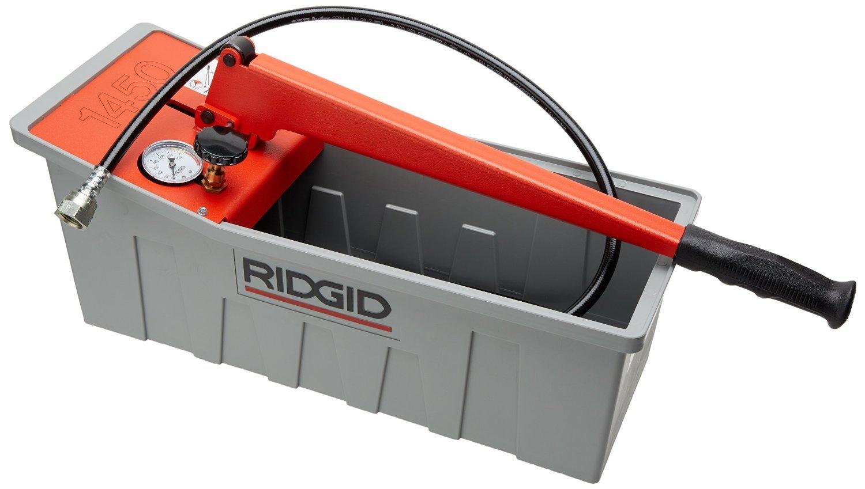 RIDGID 50557 1450 Pressure Test Pump, Hydraulic Pressure Test Kit
