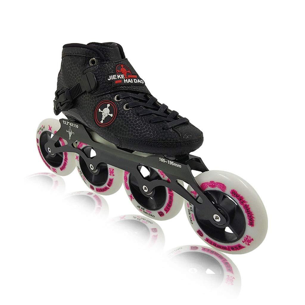 Ailj Inline Skates, Professionelles Hochelastisches Hochelastisches Hochelastisches PU4X100MM Verschleißrad Einreihige Rollschuhe Für Kinder 3 Farben B07QCWQKJD Inline-Skates Zu einem niedrigeren Preis 6dcd33