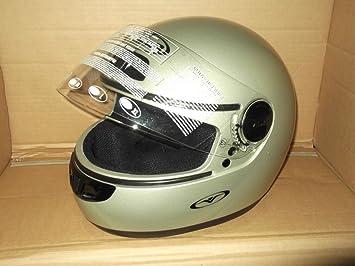 Vemar casco Integral Moto Mod.almach VXE Color Plata TG.XS