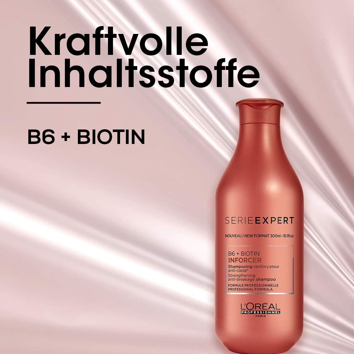 L'Oréal Professionnel Serie Expert Inforcer Shampoo Best biotin shampoo for coloured hair