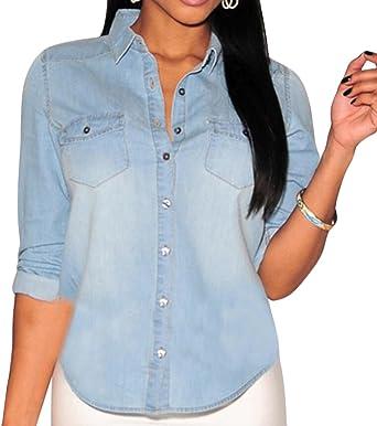 denim shirt for womens