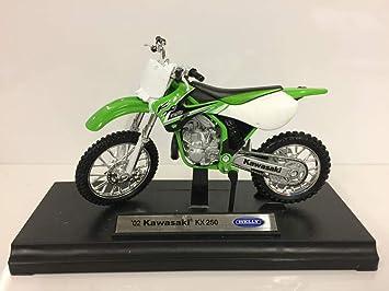 Welly Motorrad Modell 1:18 2007 Kawasaki Z1000 grün