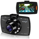Dash Cam HD 1080P Car DVR Driving Recorder Dashboard Camera with Night Vision, G-sensor Motion Detection,Parking Monitor,Loop Recording,140°Wide Angle