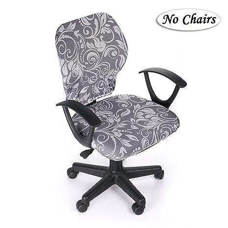 Amazon.com: BTSKY Fundas para sillas de oficina de ordenador ...