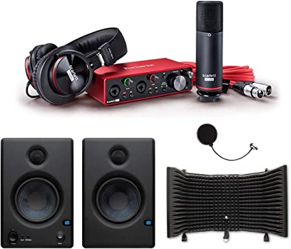 Focusrite Scarlett 2i2 Studio 2nd Gen USB Home Studio