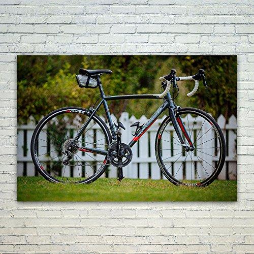Westlake Art Poster Print Wall Art - Bicycle Road - Modern P
