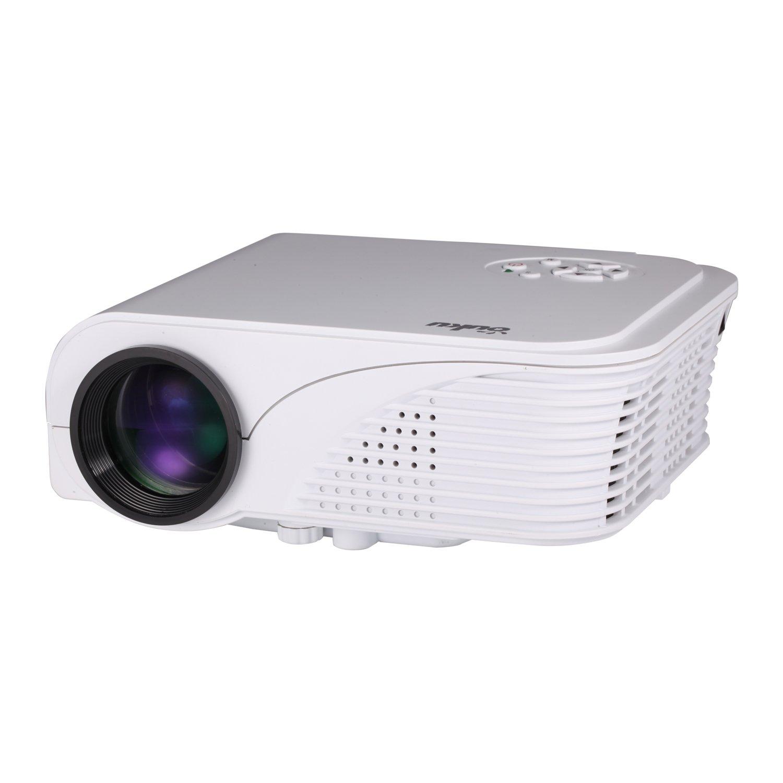 Ouku Mini videoproyector Proyector HD 1080P Tecnología LCD S320 TF ...