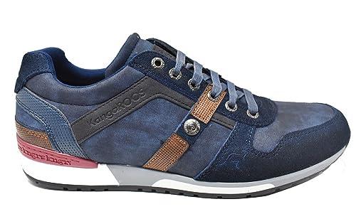 Zapatos azul marino Kangaroos infantiles iL7zo