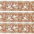 mt Washi Masking Tape deco tape embroidery bird beige
