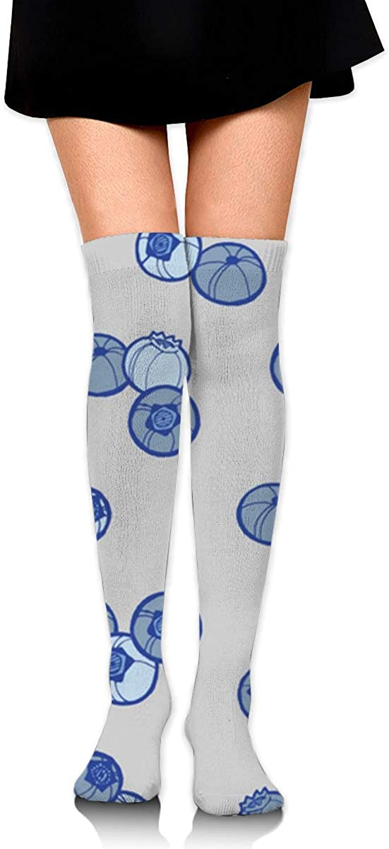 Game Life High Socks Blueberries Sport Socks Crew Socks