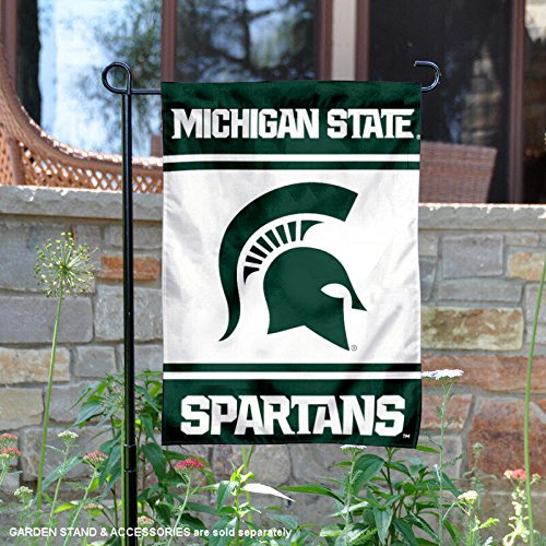 College Flags and Banners Co. Michigan State Spartans Garden