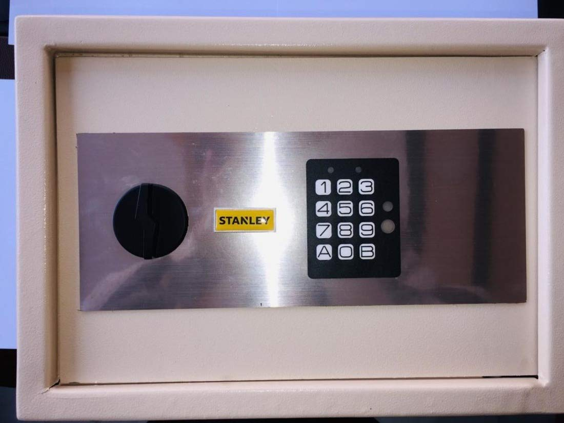 Stanley Solenoid Bolt Key Pad Safe Locker