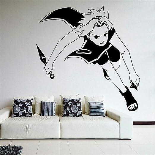 etiqueta de la pared Pared de dibujos animados Etiqueta de ...