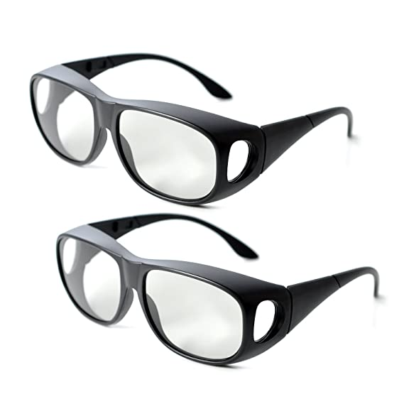 a9e822af8e2 Image Unavailable. Image not available for. Color  2Pair IMAX Passive Extra  Large Lens 3D Glasses Eyewear ...
