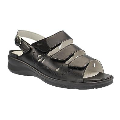 Sandaletten Damenschuhe 001 Sandale Merle Damen Waldläufer 811001 gFx1Tn