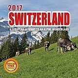 2017 Switzerland Calendar - 12 x 12 Wall Calendar - 210 Free Reminder Stickers