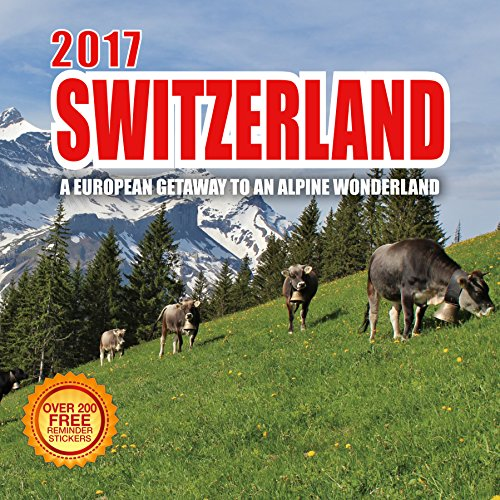 2017 Switzerland Calendar - 12 x 12 Wall Calendar - (1974 Large Poster)