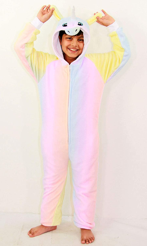 E.S Lion 2-3 A2Z 4 Kids/® Kids Girls Boys Extra Soft Fluffy Animal Onesie