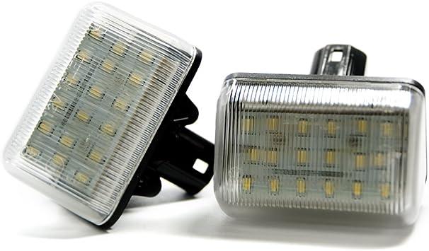 2 X Led Kennzeichenbeleuchtung Xenon Leuchte Kennzeichen Beleuchtung Auto