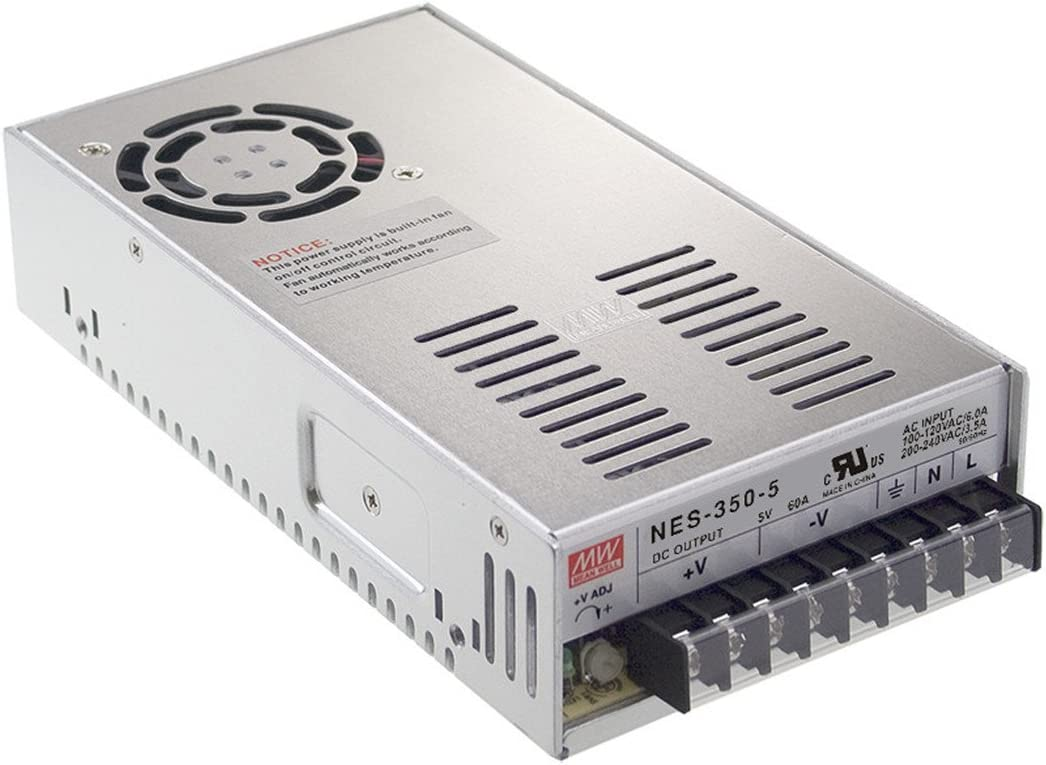 MW Mean Well NES-350-7.5 7.5V 46A 345W Single Output Switching Power Supply