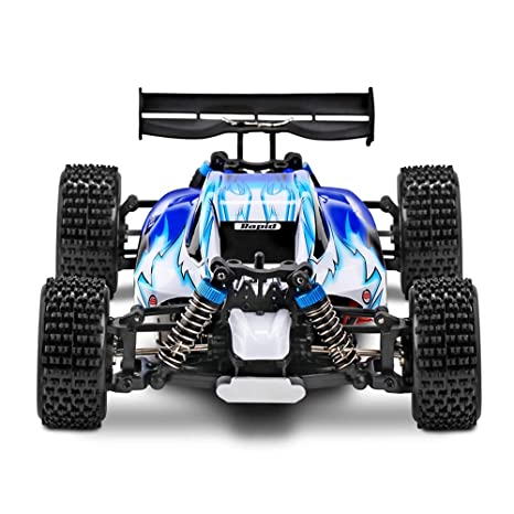 Tuition Fee Coche Rock Buggy Orugas Coche 2.4 GHz 4WD Alta Velocidad 1:18 Wireless