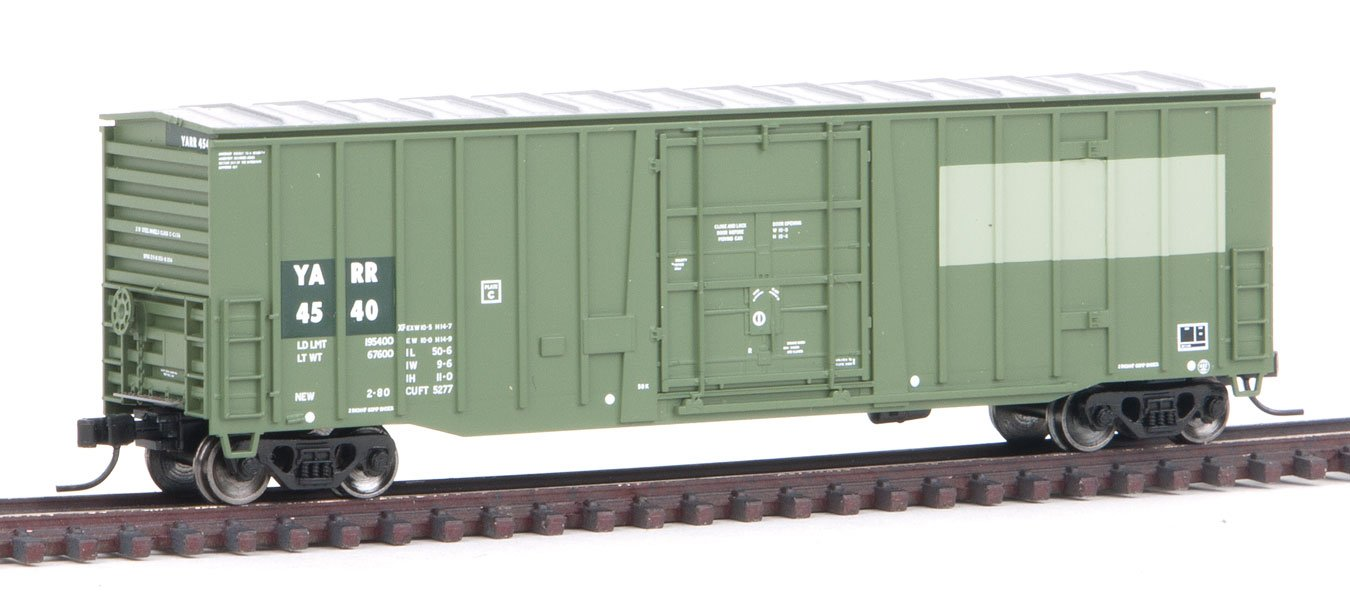 Amazon com: Atlas N Scale NSC 5277 50' Plug-Door Boxcar Youngstown