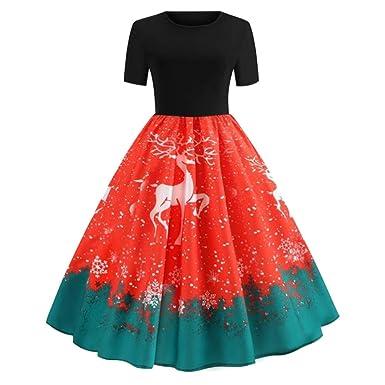 Vestidos Falda Mujer 2018 Primavera Verano otoño Navidad Coupon ...