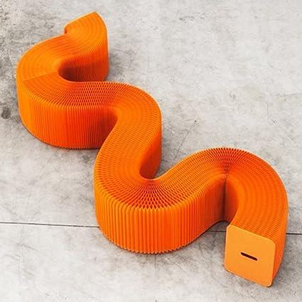 Taburetes silla plegable / taburete de papel portátil ...