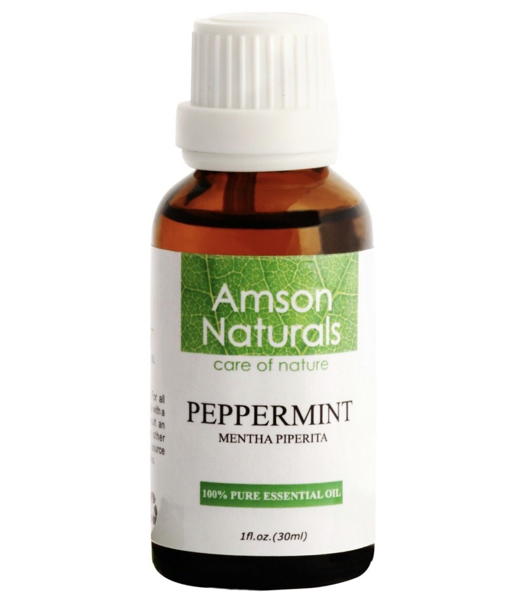 PEPPERMINT Essential Oil 1oz (30ml) - 100% Pure & Natural –by Amson Naturals
