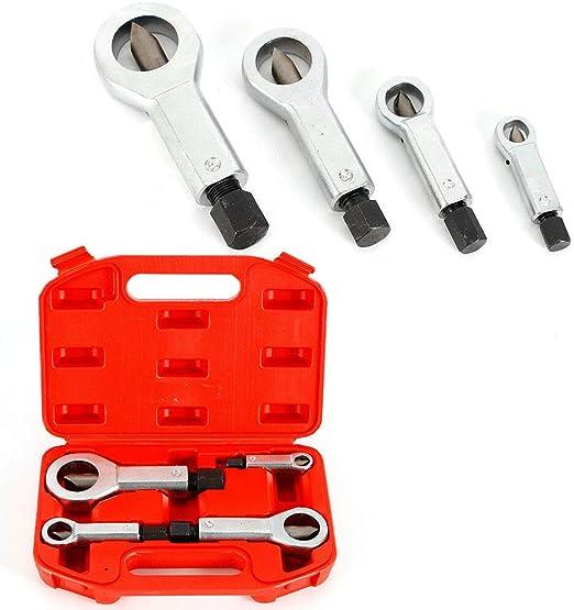 9-12mm// 12-16mm// 16-22mm// 22-27mm Broken Damaged Stuck Nut Splitter Remover Tool