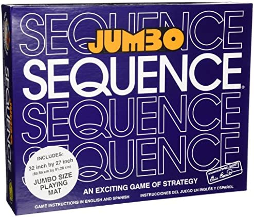 University Games Jumbo Sequence Strategy product image