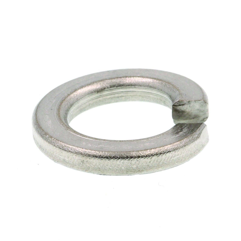 Prime Line 9082362 Medium Split Lock Washers 1 2 in. Grade 18 8 Stainless Steel 10 Pack