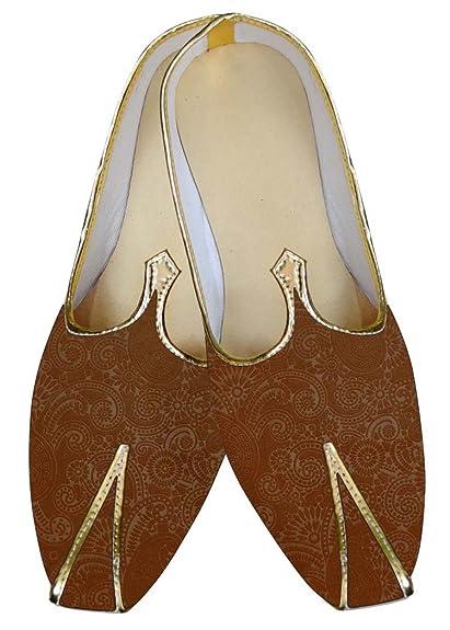 INMONARCH Hombres Marrón Boda Mocasines de Boda Paisley Diseño MJ015646: INMONARCH: Amazon.es: Zapatos y complementos