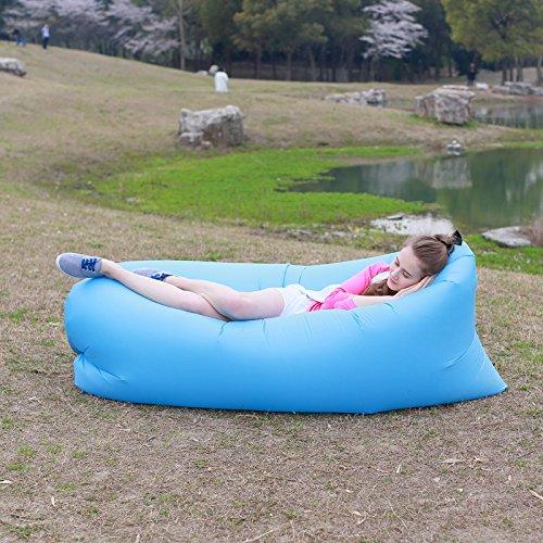 cyful hinchable (TM) Beach Bag Lilo Poof compacto de dormir sofá ...