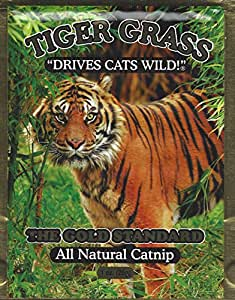 Tiger Grass All Natural Catnip, Two 1 Ounce Packages