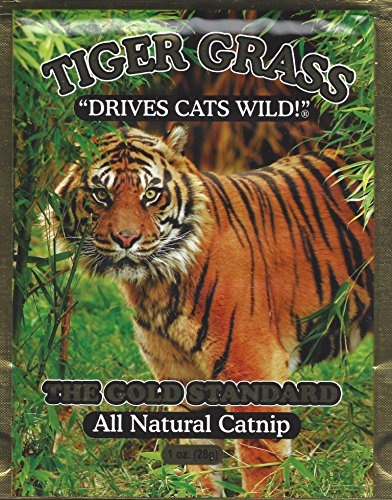 (Tiger Grass All Natural Catnip, Certified ORGANIC - Two 1 Ounce)