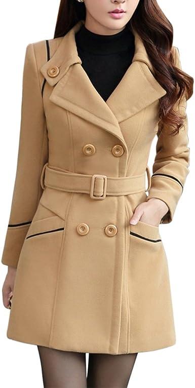trench coat ceinturé femme